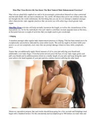 Vixea Man Plus Male Enhancement Free Trial