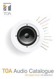 Audio Catalogue