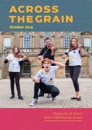 Across the Grain - October 2019 - Online Programme