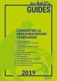 Les Guides du SGV - Connaître la réglementation vendanges 2019