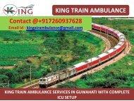 king train ambulance in guwahati