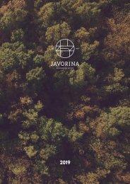 JAVORINA catalogue 2019