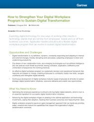 How to Strengthen Your Digital Workplace Program to Sustain Digital Transformation