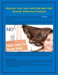 Buy Hair Growth Product To Grow Your Hair Faster