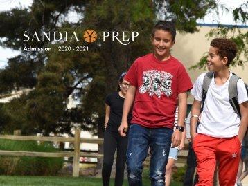 Sandia Prep Admission Viewbook 2020 - 2021