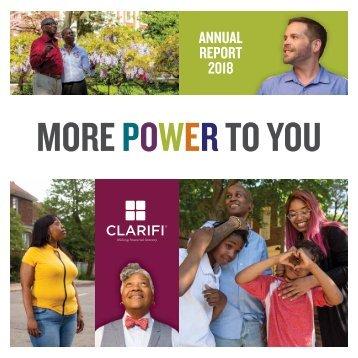 2018 Clarifi Annual Report
