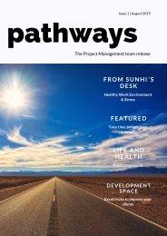 Pathways Issue 1- August 2019