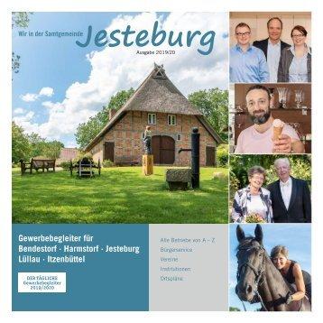 Gewerbebroschüre Wir in Jesteburg 2019-2020