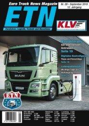 Euro Truck News Digital Nr. 09/2019