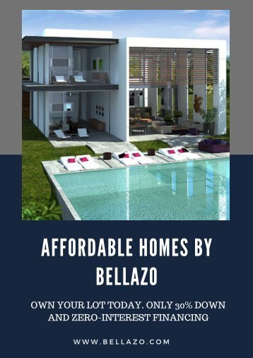 Affordable Homes By Bellazo