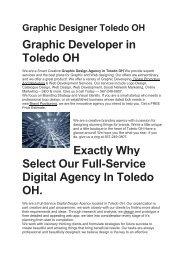 Aku Graphic Designer Toledo OH   567-249-0807