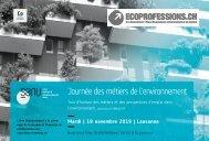Journée des métiers de l'environnement