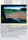 Different Types of Windscreen Chip Repair for Your Car - Page 2