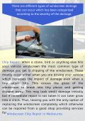 Different Types of Windscreen Chip Repair for Your Car - Page 3