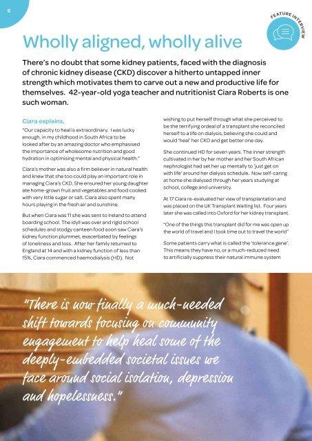 Kidney Matters - Issue 6, Summer 2019