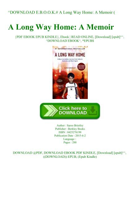 a long way home saroo brierley pdf free download
