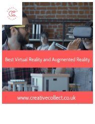 Best Virtual Reality and Augmented Reality