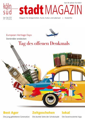 stadtMAGAZIN köln-süd | Ausgabe August-September 2019