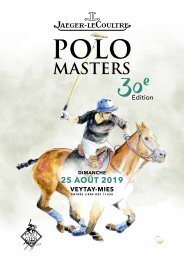 Jaeger-leCoultre Polo Masters 2019
