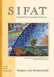 SIFAT - Religion und Wissenschaft - Heft 2 - 2019 (Leseprobe)