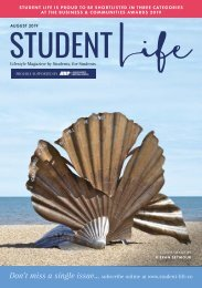 Student Life August 2019