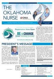 The Oklahoma Nurse - August 2019