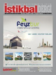 İstikbal Dergi Temmuz Sayısı