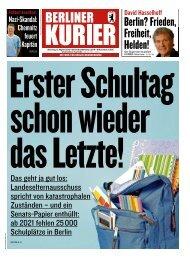 Berliner Kurier 06.08.2019
