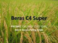 PROMO, Call 0812-1572-7399, Merk Beras Paling Enak