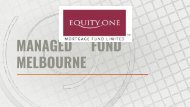 Managed Fund Melbourne