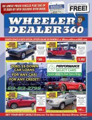 Wheeler Dealer 360 Issue 32, 2019