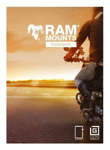 RAM Mounts Powersports Katalog DEUTSCH