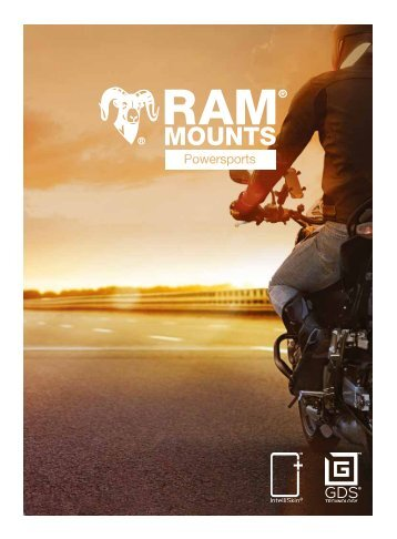 RAM Mounts Powersports Katalog