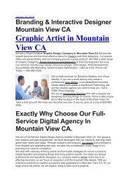 Aku Branding & Interactive Designer Mountain View CA   650-880-3255