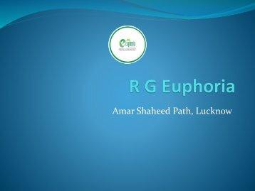 R G Euphoria: Residential Flats in Vrindavan Yojna, Lucknow