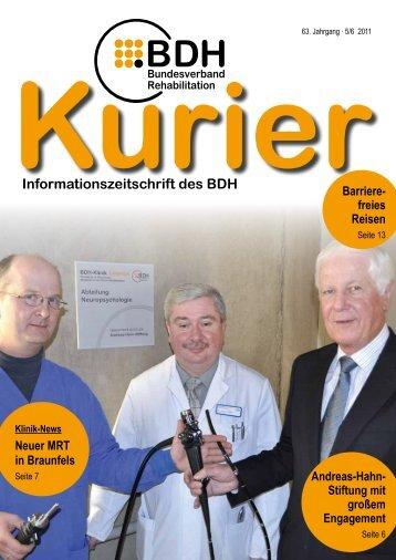Ausgabe 5/6 2011 - BDH