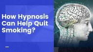 Hypnosis Therapy to Stop Smoking in NY