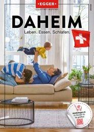 Möbelkatalog DAHEIM - Möbel EGGER