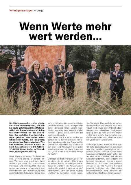 Sachwert Magazin ePaper, Ausgabe 81