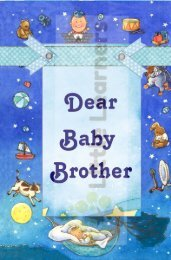 Dear Baby Brother