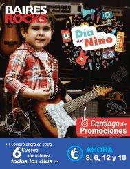 Catalogo Baires Rocks Agosto Dia Del Niño - Pliegos