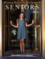 2020 Senior Magazine - Custom Portraits By Tiffany