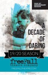 19/20 Season Brochure
