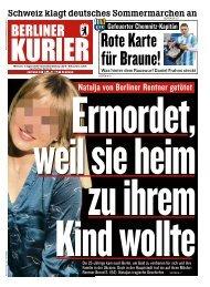 Berliner Kurier 07.08.2019