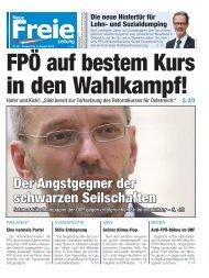FPÖ auf bestem Kurs in den Wahlkampf!