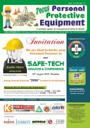 Focus Personal Protective Equipment August 2019