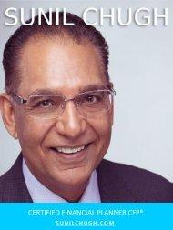 Sunil Chugh Progress Capital Management, Sunil Chugh Financial Planner, Sunil Chugh Mississauga