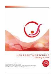 Broschüre Heilpraktikerschule Landsberg am Lech