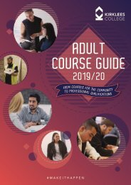 Adult Course Guide 2019/20