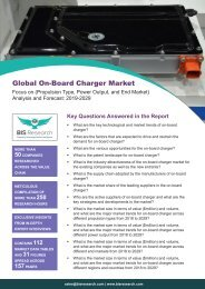 On-Board Charger Market Size 2029